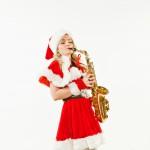 Шоу Снегурочки Саксофонистки